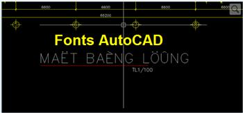 Fonts Autocad full